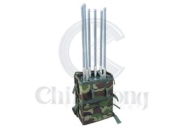 China Backpack Signal Manpack Jammer Output Power 70W 100m Jamming Range CE Approval supplier