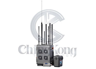 China Outdoor 6 Bands GPS signal jammer , Wireless Signal Jammer For Jail Project supplier
