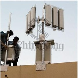 China Prisons 6 Bands High Power Signal Jammer Wireless Control RC Software Jamming Up To 300m supplier