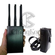 China Handheld 6 Antennas LOJACK Signal Jammer Continous Working Build - In 1 Cooling Fan supplier