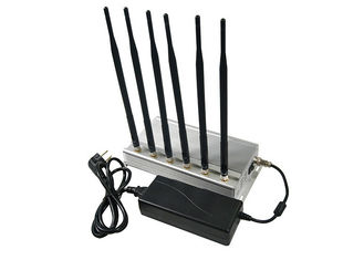 China 6 Antennas WIFI Jamming Device GSM 3G 4GLTE signal Blocker Low Price Good Quality supplier