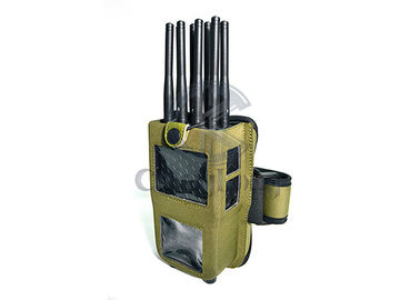 China Handheld 8 Bands GPS Signal Jammer Cellphone 4G/3G/2G WiFi Blocking Up to 20m supplier