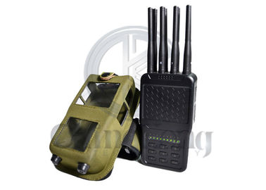 China Handheld Wireless Convoy Bomb Jammer 8 Jamming Bands Nylon Cover ABS Shell factory