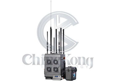 China Outdoor 6 Bands GPS signal jammer , Wireless Signal Jammer For Jail Project factory