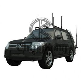 China High Power DDS Convoy Bomb Jammer Protection Roof Mounted Jamming System Black factory
