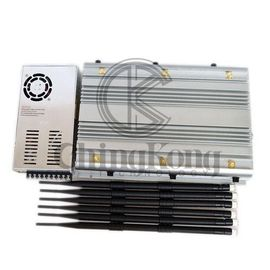 China High Power 4GLTE Wifi Signal Disruptor Portable Cell Phone Wifi Jammer Jamming Up To 80m factory