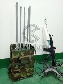 China 8 Bands Backpack Manpack Jammer Military Usage For Jamming 3G 4G WIFI factory