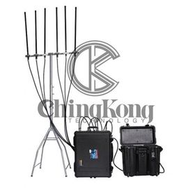 China Backpack Type Cell Phone Signal Blocker Jammer For 4G Cellular Phones factory