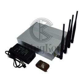 China Shielding 2-30m WIFI Jamming Device No Noise Design Separate Bands factory