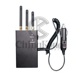 China Black 2G 3G Mini Handheld Mobile Phone And Gps Signal Jammer PDF Format factory