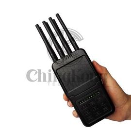 China Handheld Wireless Signal Jammer Easily Carry With ABS Shell And Nylon Cover factory