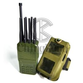 China Multiple Bands Portable Cellphone Signal Jammer Wireless With Nylon Cover factory