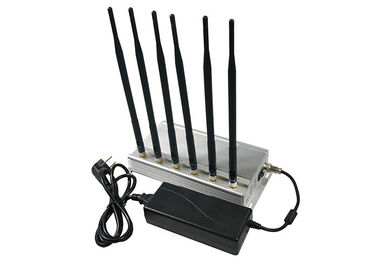 China 6 Antennas WIFI Jamming Device GSM 3G 4GLTE signal Blocker Low Price Good Quality factory